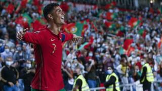 Португалия се развихри срещу Люксембург, Роналдо с хеттрик