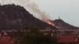 Загасен е пожарът на Младежкия хълм в Пловдив