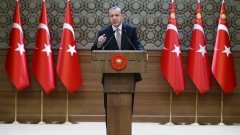 Ердоган: Турция все още се стреми към пълноправно членство в ЕС