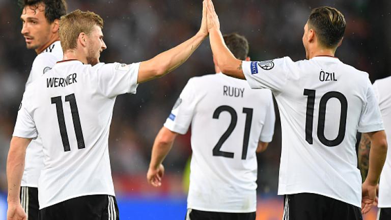 Германия размаза Норвегия с 6:0 в квалификационен мач от група