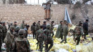 Сирийската армия, подкрепяна от руски самолети, жъне успехи