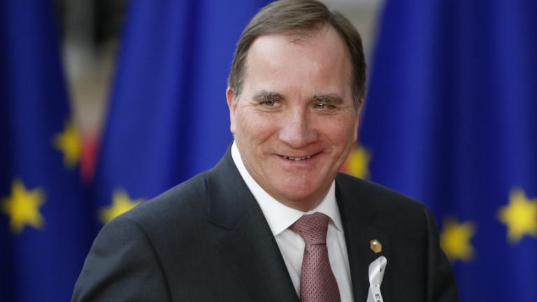 Парламентът на Швеция подкрепи лидера на социалдемократите Стефан Льовен за