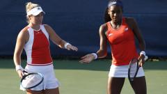 Кори Гоф и Кейти Макнали направиха шоу в мач на двойки на US Open 2019