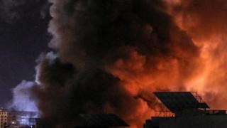 Израел атакува обекти на ХАМАС в отговор на насилие по границата с Газа