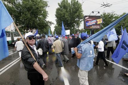 """""""Подкрепа"""" решително се включва в протеста на бизнеса"""