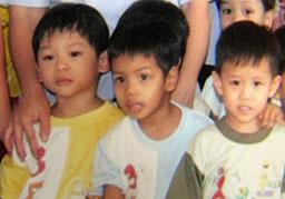 Джоли осинови 4-годишно виетнамче