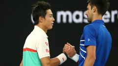 Новак Джокович на 1/2-финал в Мелбърн след отказване на Кей Нишикори