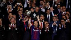 Иниеста: Не вярвам, че Неймар ще се завърне в Барселона