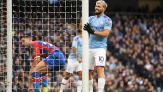 Невероятен Агуеро не успя да измъкне Манчестър Сити срещу Кристъл Палас