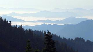 Мартеница, мъглива утрин в Родопите, мутрите...