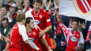 Митко Рангелов вкара и двата гола за Енерги при равенството 2:2 с Айнтрахт