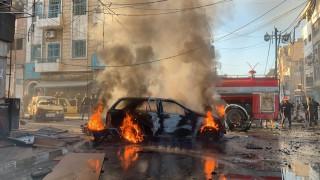 Три едновременни атентата разтърсиха пазар в кюрдския сирийски град Камишли