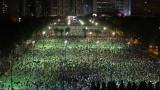"""Арести и лютив спрей в Хонконг след нарушаване на забраната за организиране на бдение за """"Тянанмън"""""""