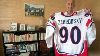 На 97-годишна възраст почина легендарният хокеист Владимир Забродски