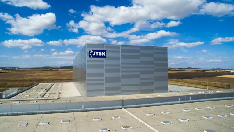 Снимка: JYSK отвори дистрибуционен център за над 200 милиона лева до София