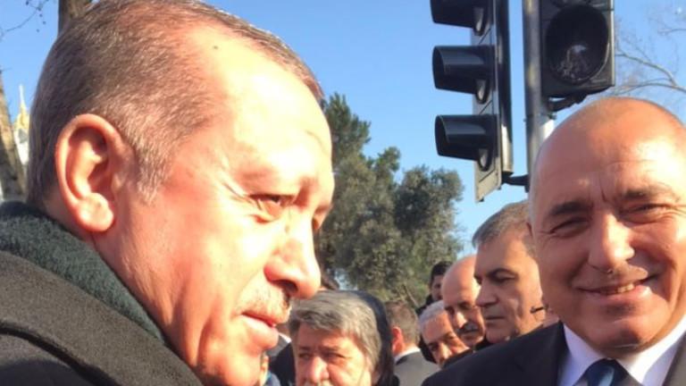 Да захвърлим лошите спомени от историята, призова Ердоган
