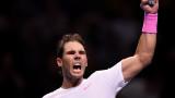 Рафаел Надал обърна Даниил Медведев в изключителен мач в Лондон