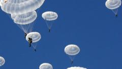 Натовски сили изсипват у нас огромен въздушен десант