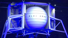 Джеф Безос показа лунохода на Blue Origin