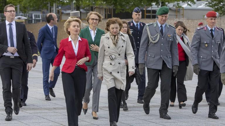 Германски и френски представители се подписаха подчетири документа, които подчертават