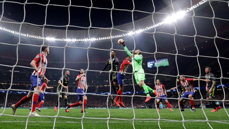 Атлетико (Мадрид) - Ювентус 2:2, Ерера изравни в края за домакините