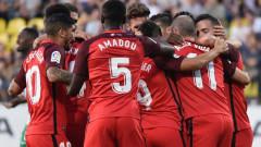 Категорична победа прати Севиля напред в Лига Европа