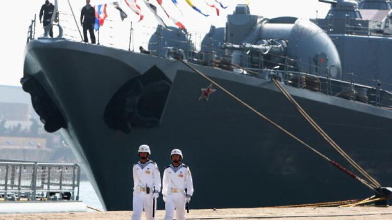 Китай и Русия с военноморски учения до Корейския полуостров