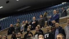 Министър Кралев изгледа среща от Световното първенство по футзал