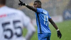 Звездата на Левски Найджъл Робърта получи бонус от Стоянович