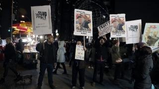 Протести срещу Доналд Тръмп
