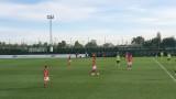 Един удар във вратата, двама контузени и три гола пасив за ЦСКА срещу Виктория (Пилзен)