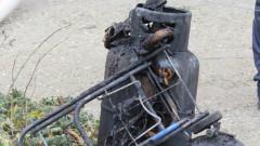 Газова бутилка предизвика пожар в къща в Благоевград