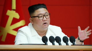 Ким доволен от армията, справила се с щетите от тайфуна