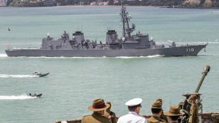 Япония изпрати разрушител в Близкия изток