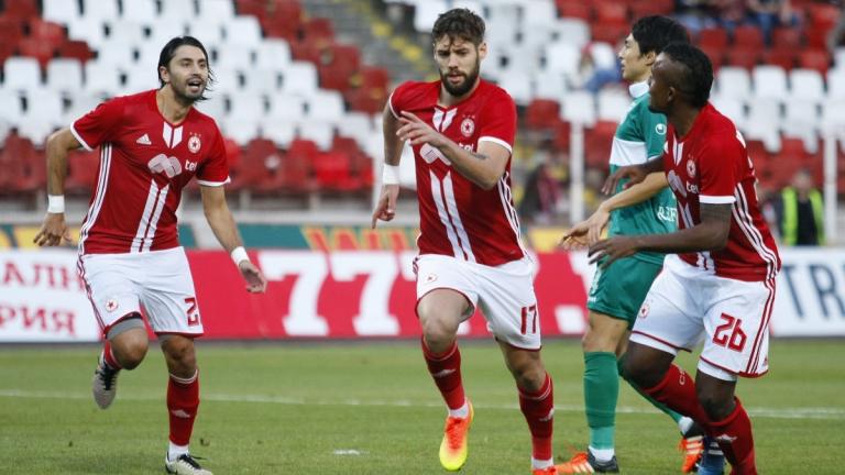 ЦСКА представя отбора си срещу тима на Бербатов