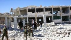 Сирийските бунтовници обстреляха хуманитарния коридор в Алепо, раниха двама руски войници