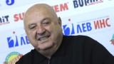Венци Стефанов: Вярвам, че Славия е последният отбор, който може да изпадне