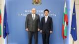 Красен Кралев се срещна с посланика на Република Корея Н.Пр. Джънг Джингю