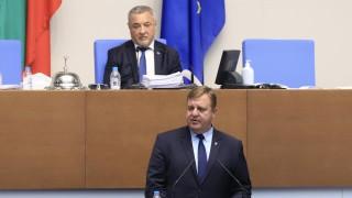 Каракачанов уверява, че няма да прескочат парламента за Северна Македония