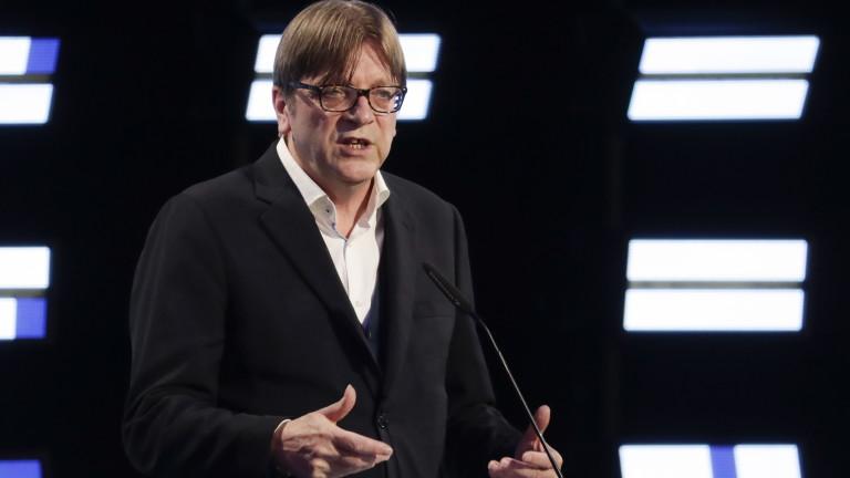 Алиансът на либералите и демократите за Европа обяви, че прогнозните