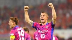 Подолски дебютира с два гола в Япония (ВИДЕО)