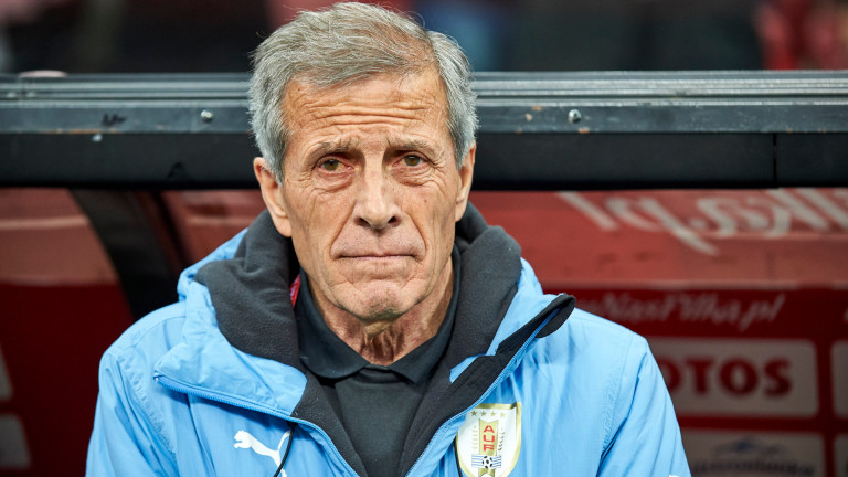 Съставът на Уругвай за мача с Египет от Група А