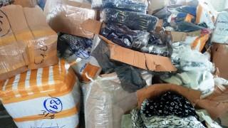 Митничари задържаха дрехи менте във Видин