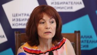 ЦИК: Няма забавяне в обявяването на резултатите от вота