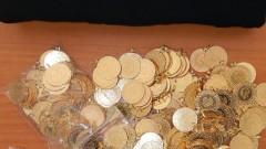 Задържаха над 300 златни монети и бижута на Капитан Андреево