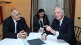 Борисов постави пред Барние въпроса за социалните и здравните пенсии след Брекзит
