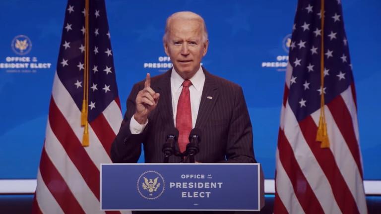 Ден преди Деня на благодарността, новоизбраният президент на САЩ Джо