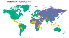 36% от населението по света е несвободно, свободата намалява в 72 страни