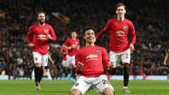 Манчестър Юнайтед разгроми АЗ Алкмаар с 4:0 след шоу на Мейсън Грийнууд