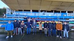 Министър Кралев проведе работна среща  със спортни клуба в Русе